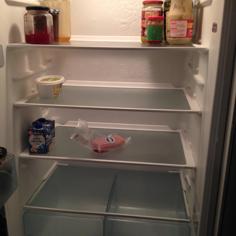 que faire a manger frigo vide